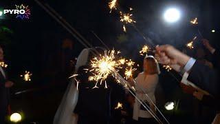Бенгальские огни, Фонтаны, Свадьба, Разрезание торта, 4246
