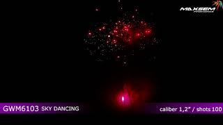 Фейерверк GWM6103 Sky Dancing Maxsem купить в Минске | Firedragon.by