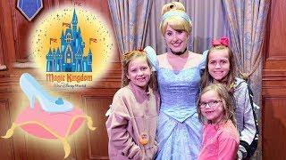 Disney's Magic Kingdom! Meeting Disney Princesses and a Fireworks Display! | Crazy8Family