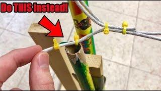 How To Fuse Fireworks Together! (ROMAN CANDLES)