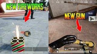 I Found New Fireworks And New Gun In Pubg Mobile | Pubg Mobile 0.12 Update - Guru Gaming
