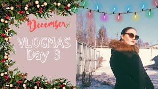 Vlogmas | Влогмас #3: новогодняя атмосфера, бенгальские огни, пена для кофе