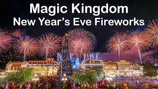 Magic Kingdom New Year's Eve Fireworks (4K Multi-Camera Edit)