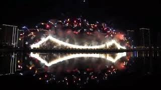 Fireworks show Just last night