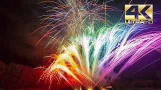 ⁽⁴ᴷ⁾ Vuurwerk Finale - Demo Vuurwerk Duitsland.com 2018 -  AP Feuerwerk - Fireworks
