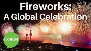 """Fireworks: A Global Celebration"" - practice English with Spotlight"