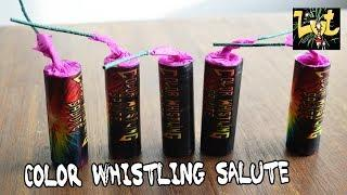 Color Whistling Salute Knallers Salon Roger Fireworks Maaseik