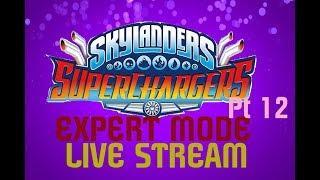 FIREWORKS | Skylanders: Superchargers | Expert Mode Livestream (Pt. 12)
