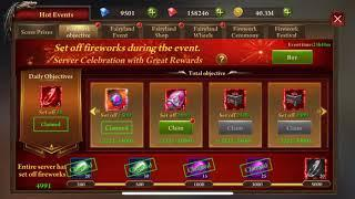 Era of Celestials : Vanquisher Reward, Rubies from Bets, New mount activated,Fireworks Drops