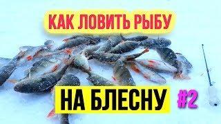 Как ловить рыбу на блесны Что делать на льду Зимняя рыбалка Часть 2