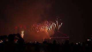 Brisbane Fireworks 2018  Story Bridge