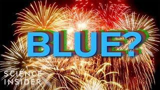 Why You Never See Brilliant Blue Fireworks