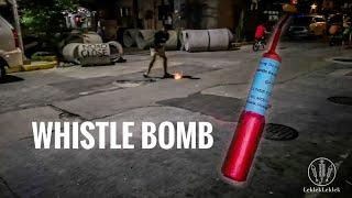 Whistle Bomb by Conde Fireworks Manila, Philippines New Year's Eve 2019 - 2020