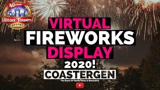 FWSIM - Alton Towers Fireworks Spectacular 2020 - 4K