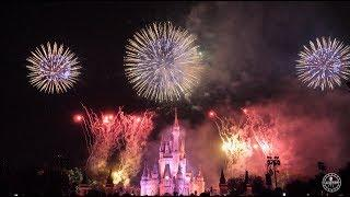 Disney's Celebrate America 4th of July Fireworks in 4K | Magic Kingdom Walt Disney World
