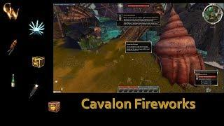 Guild Wars Fireworks Extravaganza in Cavalon from the Fireworks Master!