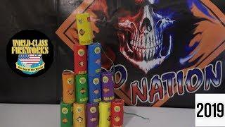 """EXCALS 1.75"""" CANISTER SHELLS - WORLD CLASS FIREWORKS"""