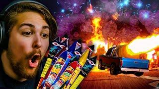 I BROKE REALITY || Fireworks Mania - An Explosive Simulator
