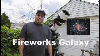Capturing the Fireworks Galaxy and Poison Ivy