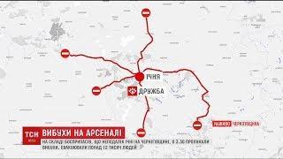 30-кілометрова зона довкола Ічні обмежена для проїзду транспорту