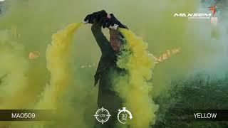 МА0509 Yellow Цветной дым густой Желтый 30 секунд