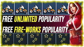 FREE POPULARITY FIREWORKS FREE BIKES PUBG NEW VPN TRICK FREE AKM SKIN FREE M416 SKIN VPN TRICK PUBG