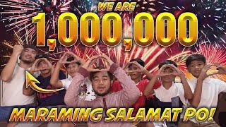 We Are 1 Million!   With Fireworks! Celebrate w/ us!