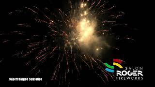 Supercharged Sensation 100 Shots Box Salon Roger Fireworks 4K