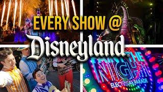 Every show at Disneyland since (since 2016) | Parades, Fireworks, Fantasmic