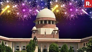 Ahead Of Diwali, Supreme Court To Decide On Fireworks Ban | #FireworksVerdict
