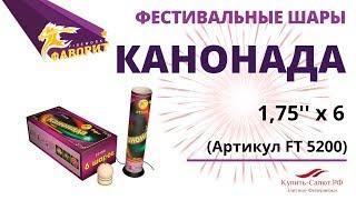 "Фестивальные шары КАНОНАДА 1,75"" FT 5200"