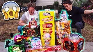 $500 of NEW YEAR'S EVE FIREWORKS! New Years Eve 2018/2019 Fireworks Explosions VLOG