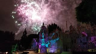 Disneyland Rock And Roll Mickey Remix Fireworks