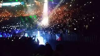 FIREWORKS! LIVE IN ARENA ADRIEN BRONER RING ENTRANCE VS MANNY PACQUIAO