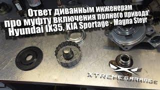 Ответ диванным инженерам про муфту включения полного привода Hyundai IX35, KIA Sportage - Magna Stey
