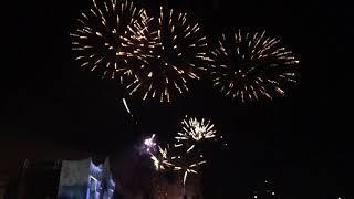Праздничный фейерверк в честь Дня России 12 июня 2021г. Салют Самаре на площади Куйбышева.