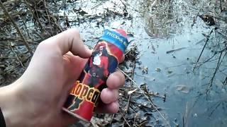 Взрываем петарды в болоте| Тест петард в трясине| Моя пиротехника на Новый Год 2020