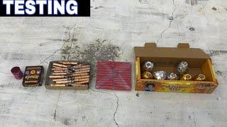 5 Different Types of Crackers Testing || Diwali Fireworks Testing ||Firecrackers testing || Crackers