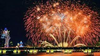 Macao celebrates Mid-Autumn Festival with lanterns, fireworks show