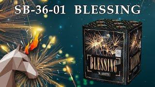 "SB-36-01 BLESSING/ Благословение (1,2"" х 36) пиротехника оптом ""ОГОНЁК"""
