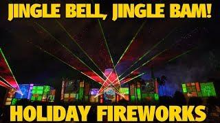 Jingle Bell, Jingle BAM! Holiday Fireworks Show 2018 | Disney's Hollywood Studios