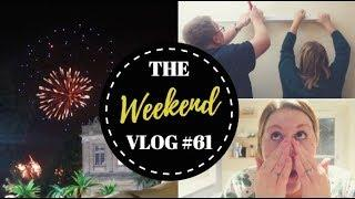 The Weekend Vlog #61- LAZY MORNINGS, FIREWORKS & DIY