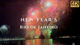 New Years Eve Fireworks & Celebration in Rio de Janeiro