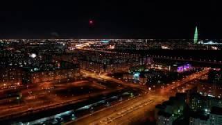 Салюты с высоты в Санкт-Петербурге в Новогоднюю Ночь 2020