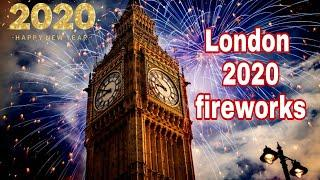 London 2020 fireworks | Happy new year | Celebration | New year's Eve