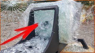 Эксперимент|Мощная петарда пробила 20 слоев стекла|Тест петард|Glass vs firecrackers