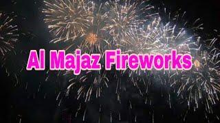 Al Majaz Fireworks Sharjah Monangning