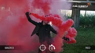 МА0513 Red Цветной дым густой Красный 60 секунд
