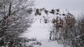 Пиротехника - снеговики