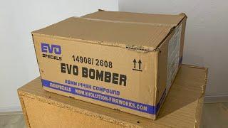 Evo Bomber : Evolution Fireworks : 144 Shots : 25 mm : Compound : Straatfilm
